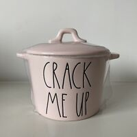 New Rae Dunn Pink Crack Me Up Mini Serving Dish - Easter 2021 Online Release