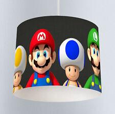 Mario Brothers (218) Boys Bedroom Drum Lampshade Light Shade
