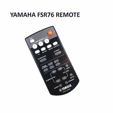 Original FSR76 Yamaha Remote Control  ZU84640 Soundbar YAS306
