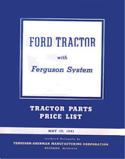Ford 9N Tractor Parts Manual may 15, 1941  Coil Bound