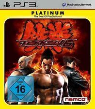 PLAYSTATION 3 Tekken 6 tedesco PLATINUM/Essential ottime condizioni