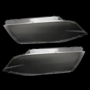 Front Headlight Headlamp Plastic Clear Lens Cover Fit For BMW E90/E91 04-07 2pcs