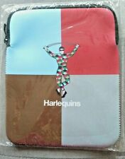 """HARLEQUINS RUGBY IPAD / TABLET NEOPRENE CASE COVER 7½"""" X 9""""  BRAND NEW / RRP £15"""