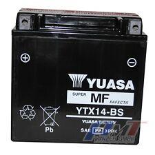 Yuasa Batterie YTX14-BS Motorradbatterie