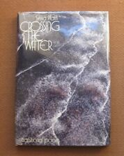 CROSSING THE WATER transitional poem by Sylvia Plath - 1st/2nd HCDJ 1971 - fine