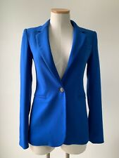 Blazer Jacket Royal Blue Reese + Riley Long Sleeve Size 2
