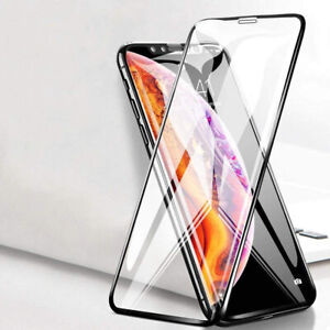 Screen Protector for iPhone 12 12 PRO XR XS MAX TEMPERED GLASS 9D EDGE TO EDGE