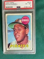 1969 TOPPS WILLIE STARGELL # 545 GRADED PSA 6 PITTSBURG PIRATES