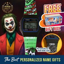 Kids Joker Custom Design Watch | Personalised Name Watch Gift for Kids