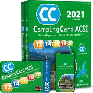 ACSI CampingCard 2021 incl. CampingCard ohne App
