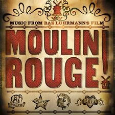 Moulin Rouge! MUSIC FROM THE MOVIE Soundtrack BAZ LUHRMANN New Sealed Vinyl 2 LP