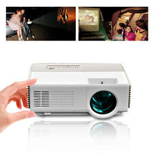 Mini Portable LED LCD Home Cinema Projector Game Movie USB HDMI 1500LM for kids