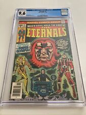 Eternals 5 CGC 9.6  WHITE Pages First appearance  Jack Kirby Movie