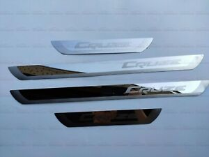 For Chevrolet Cruze Accessories Stainless Steel Door Sill Scuff Plates Protector