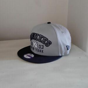 New York Yankees 9FIFTY YOUTH Adjustable MLB Baseball Cap