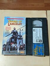 SWORD OF LANCELOT VHS MCA HOME VIDEO 1986 FANTASY ACTION OOP