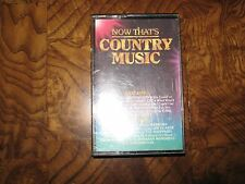 Now That's County Music Cassette Tape