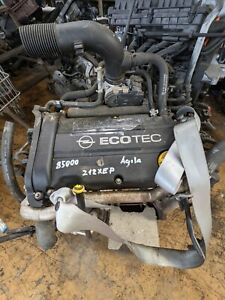 Motor Opel Corsa C - D - Agila 1,2 Z12XEP 80PS 85tkm Laufleistung
