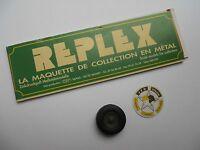 CEF REPLEX 1/43 ACCESSOIRE D'ORIGINE 1 ROUE COMPLETE DIAMETRE 26 mm VAB TRM