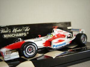 1/43 TOYOTA Panasonic TF104 #16 Da Matta 2004 - Minichamps M400040016