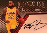 Lebron James🔥 Aceo Facsimile Autograph Custom * Lakers