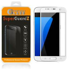 2X Samsung Galaxy S7 [FULL COVER] Tempered Glass Screen Protector + 2 Stylus Pen