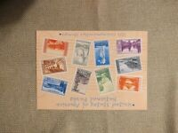 National Parks Postage Stamps  10 1934 mint cond. stamps in each envelope