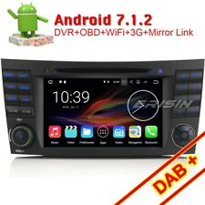 Android 7.1 Car Stereo Satnav Mercedes Benz E/CLS/G Class W211 W219 W463 CD DAB+