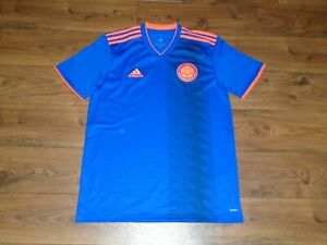 adidas Colombia National Team AWAY Jersey Soccer World Cup 2018 CW1562 Medium