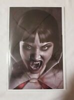 VAMPIRELLA #13 CARLA COHEN BLACK & WHITE VIRGIN VARIANT NM+IN MYLAR  🔥