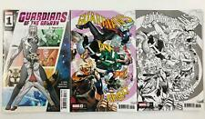 3x GUARDIANS OF THE GALAXY #1 ~ CABAL LARRAZ PARTY SKETCH Variant Covers ~ 2020