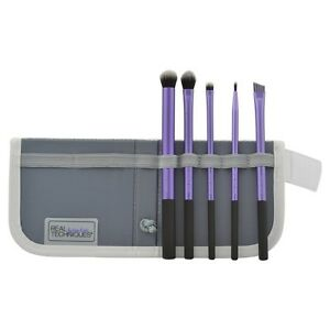 Real Techniques Cosmetic Professional Makeup Brushes Starter Set Kit Pack UK NEW