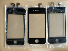 5 New Apple Touch Screen Digitizer Front Glass -IPHONE 4 A1332 A1349 - BLACK...