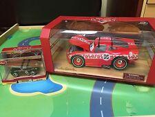 NEW Artist Series Disney Pixar Cars DieCast LIGHTNING MCQUEEN 1:18 & 1:43 2 Cars