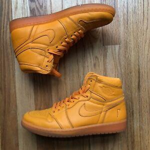 Mens Nike Air Jordan 1 One Retro High Gatorade Pack Orange Peel Sz 11 AJ5997-880