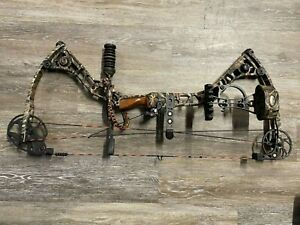 "Mathews Reezen 6.5 28"" Left-Hand 60# to 70# Archery Compound Hunting Bow + Acc's"