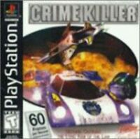 Crime Killer PlayStation For PlayStation 1 PS1 Game Only 6E