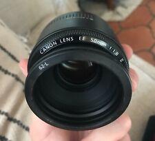 Canon EF 50mm F/1.8 DSLR Lens