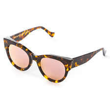 Retrosuperfuture Noa Peach Havana Fashion Sunglasses (Reg) Super-EVS 54 mm