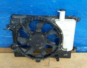 2011-2013 Hyundai Elantra Radiator Cooling Fan W/ Reservoir Assembly OEM