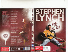Stephen Lynch-Live At The El Rey-Comedy Music-Music L-DVD