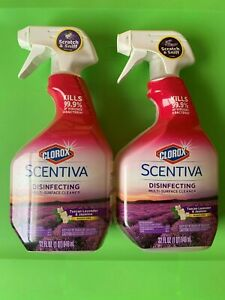 Clorox Scentiva Disinfecting Surface Cleaner ( 2-32 Oz Bottles)