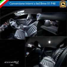 KIT FULL LED INTERNI ABITACOLO BMW X1 F48 CANBUS 6000K NO AVARIA LUCI