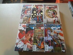 2014 Harley Quinn (New 52) HOT IN THE CITY Set of 7 Comics (0-6) VF/NM 1ST PRINT