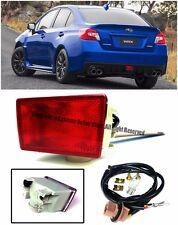 For 11-Up Impreza WRX STi 13-Up XV Crosstek JDM Rear Fog Lights Brake Tail Lamp