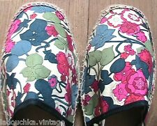 French Pare Gabia Woman Espadrilles Sandals~Floral Print~Handcrafted~New & Box~9