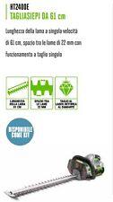 TAGLIASIEPI A BATTERIA 61 cm EGO POWER PROFESSIONALE tagliasiepe siepe siepi ELE