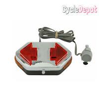 NEW!Bike Bicycle Directional Turning Signal Light Red BMX MTB Cruiser Lowrider