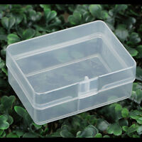 5X Clear Plastic Transparent Storage Box Collection Container Case Part Box JD