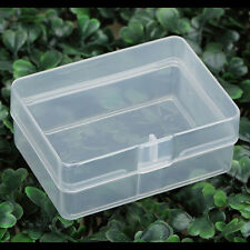 5x Clear Plastic Transparent Storage Box Collection Container Case Part Box PO